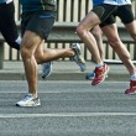 Marathon runners — Stock Photo #10896603