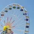 Fairground wheel — Stock Photo