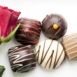 Roses and Bon Bons — Stock Photo