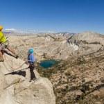 Rock climber on the edge. — Stock Photo #12168395