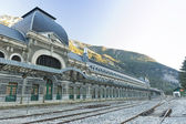 Canfranc train station — Stock Photo