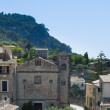 Banyalbufar. Village in Majorca — Stock Photo