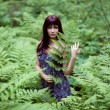 Forest dryad. — Stock Photo