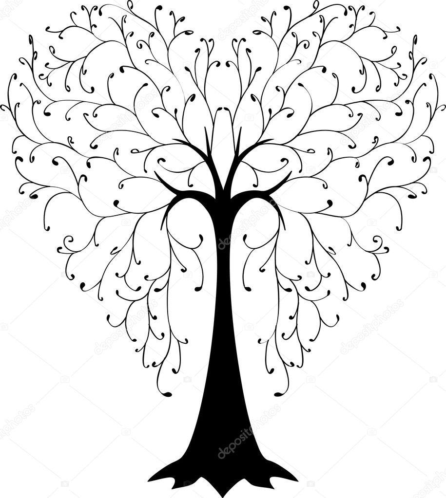 一棵树春夏秋冬素材