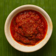 Stock Photo: Sambal chili sauce