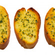 Stock Photo: Garlic bread