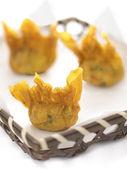 Fried wantons — Stock Photo