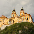 Melk abbey - austria, danube valley — Stock Photo