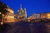 Church of the Savior on Blood. Saint Petersburg — Stock Photo
