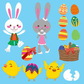 Easter Elements — Stock Vector