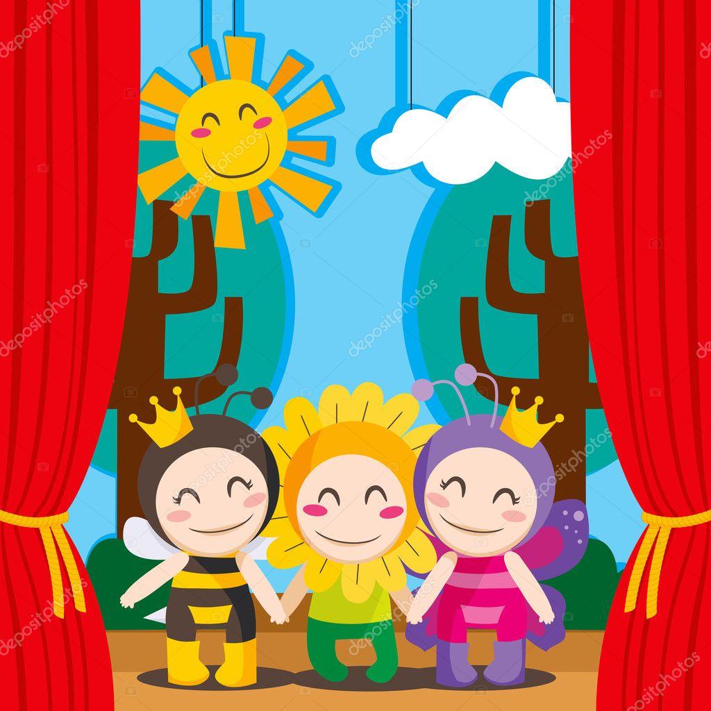 картинки для детей театральные профессии
