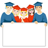 Graduation Day — Stock Vector