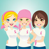 Fight Breast Cancer — Stock Vector