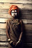 Portrait of african women — Stock Photo