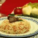 Rice pilaf — Stock Photo #11403091