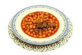 Garbanzo bean — Stock Photo