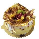 Delicious, pistachio cake — Stock Photo