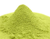 Japanese green powder matcha tea — Stock Photo