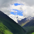 Caucasus mountains Dombai — Stock Photo #11364641