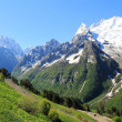 Caucasus mountains Dombai — Stock Photo #11405875