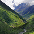 Caucasus mountains Dombai — Foto Stock