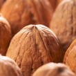 Walnut background,full frame — Stock Photo