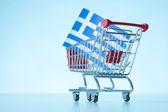 Greece property sale — Stock Photo