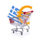 Greek financial crisis — Stock Photo