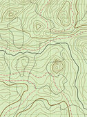 Vector abstract topographical map — Stock vektor