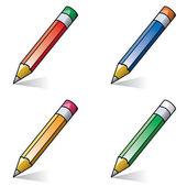 Vector pencils — Stock Vector