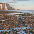 Seven Sisters Cliffs South Downs England landscape — Stock Photo
