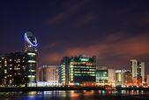 London City general skyline at night — Stock Photo