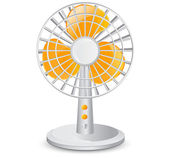 Electric table fan — Stock Vector