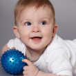 Royalty-Free Stock Photo: Kid with the ball