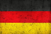 Grunge Dirty and weathered German Flag — Stock Photo