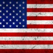 Grunge Dirty and Weathered USA (American) Flag — Stock Photo