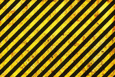 Grunge Warning Black and Orange Pattern — Stock Photo