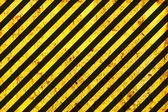 Grunge Warning Black and Orange Pattern — Stock Photo