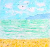Tropical Sea or Ocean Summer Landscape — Stock Photo