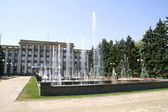 City fountains in Donetsk. — Stock Photo