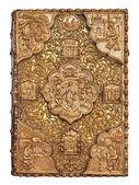 Золотой Обложка Библии — Стоковое фото
