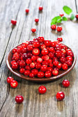 Fresh red berries — Stock Photo