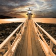 Lighthouse at sunset2 — Stock Photo #10771711