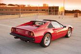 Sports car rear view — Stock Photo