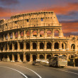 The coliseum in rome — Stock fotografie