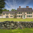Colonial house in New England — Stock Photo