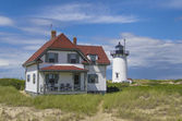 Race point lighthouse — Stock Photo