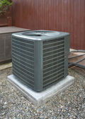 Heat pump and ac unit — Stock Photo