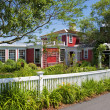 Stock Photo: Bed and breakfast seaside inn