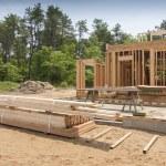 New house under construction — Stock Photo #11757706